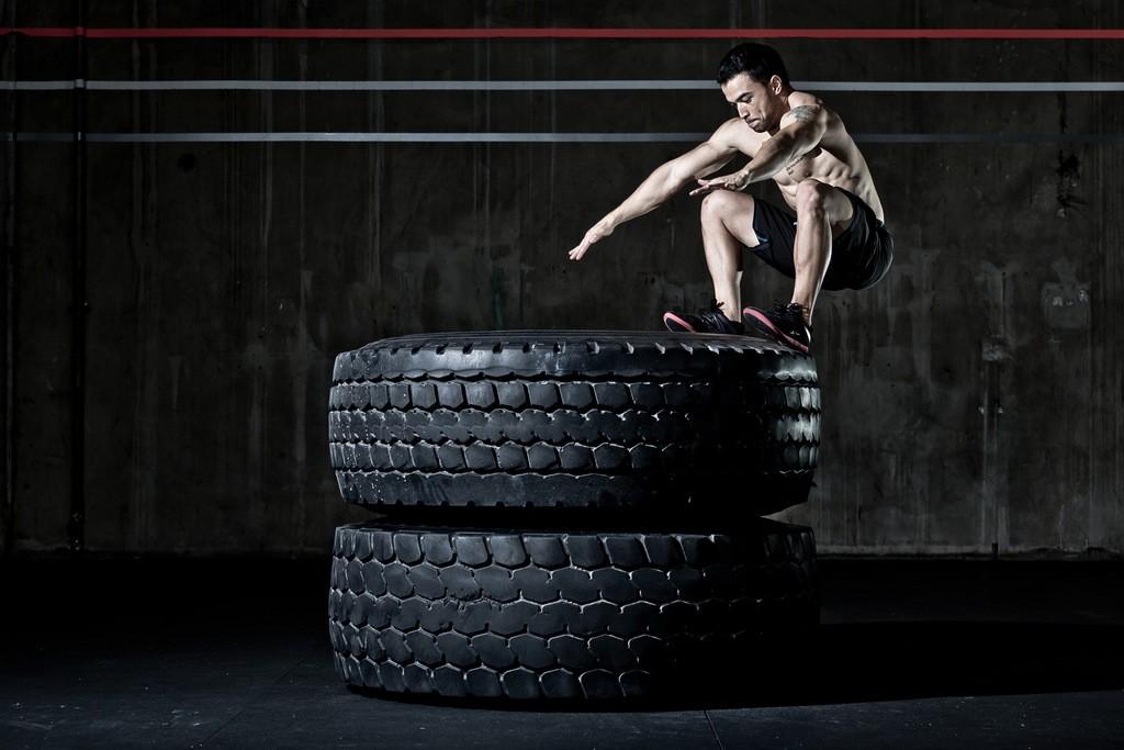 Wod CrossFit Sevilla salto neumatico
