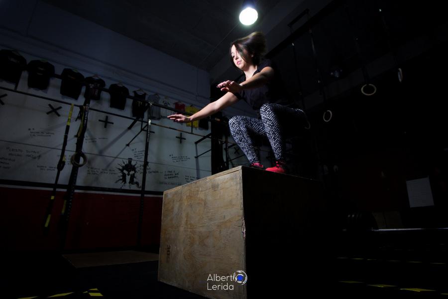 Wod CrossFit Sevilla Box Jump AB
