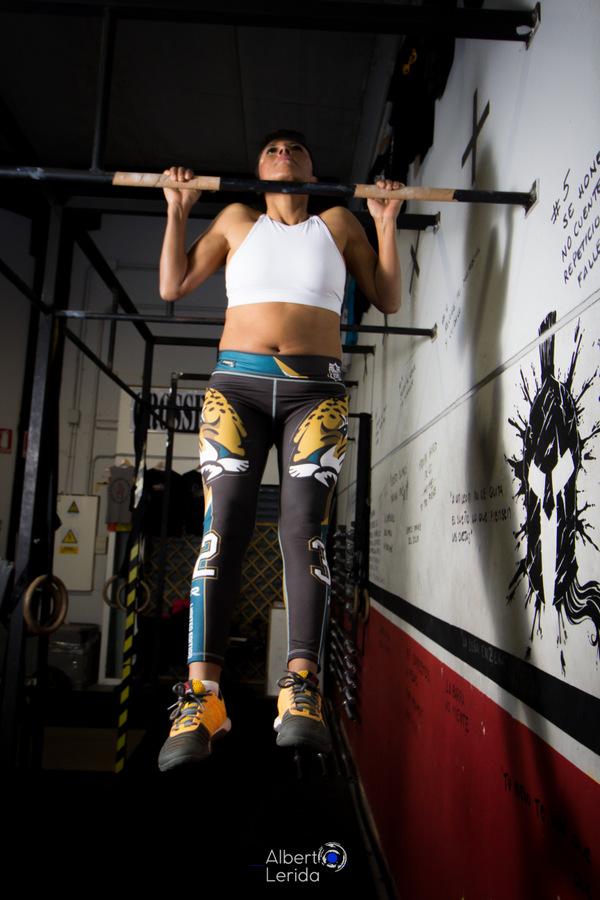 Wod CrossFit Sevilla Girl Barra Dominada