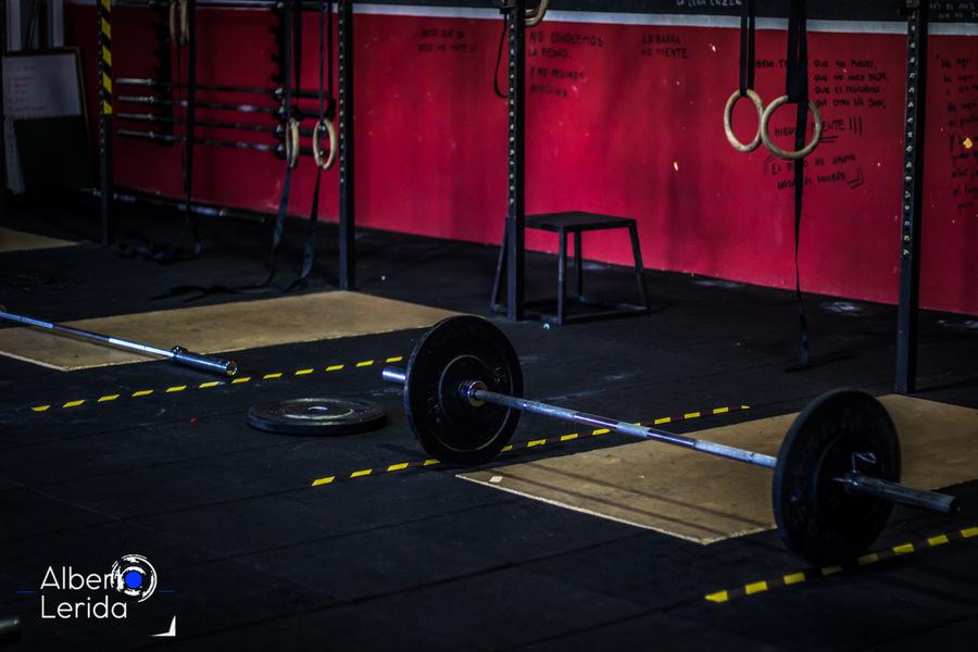 Wod CrossFit Sevilla Box Halterofilia