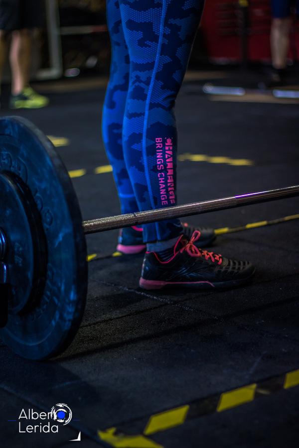 Wod CrossFit Sevilla Girls Halterofilia