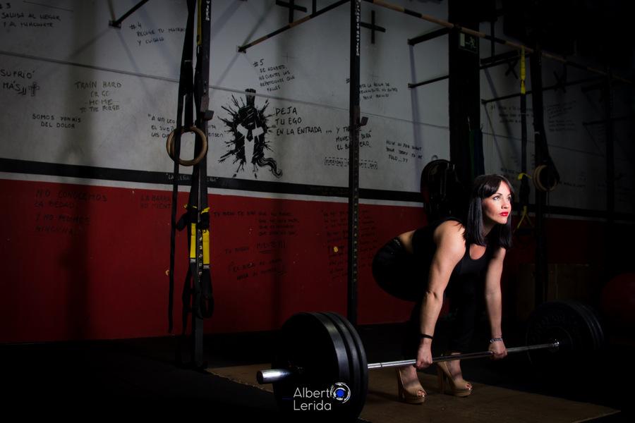CrossFit Sevilla Wod Girl Lion Halterofilia
