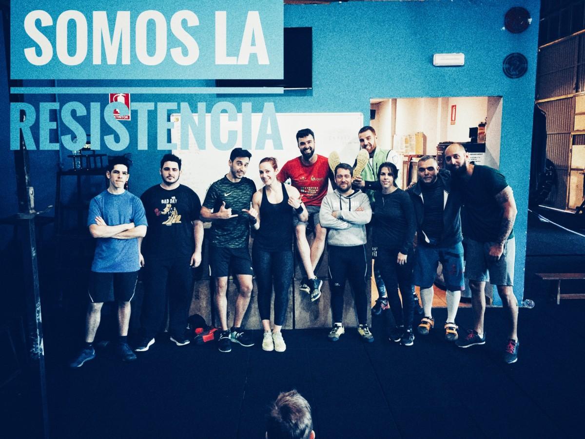 Wod CrossFit CFS Box Sevilla Resistencia