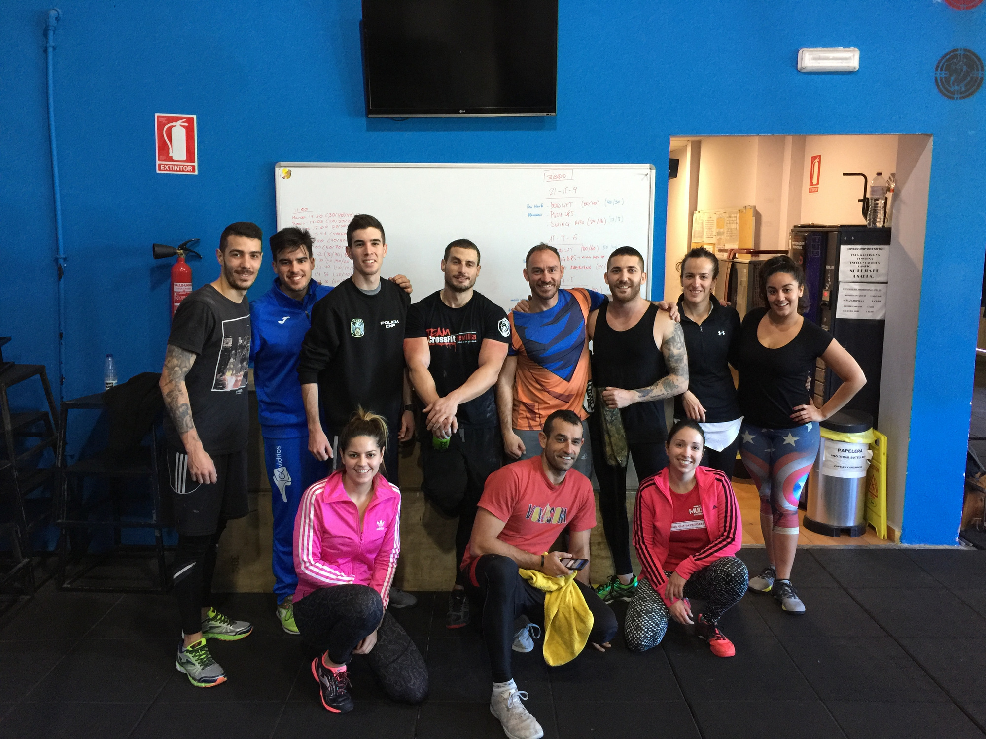 Wod CFS Box CrossFit Sevilla Leones Manada