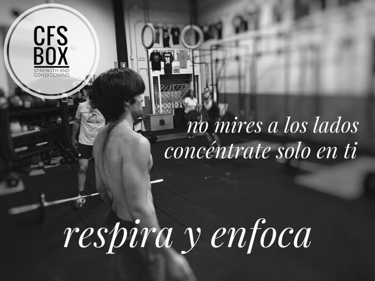 CFS Box Sevilla CrossFit Training respira enfoca