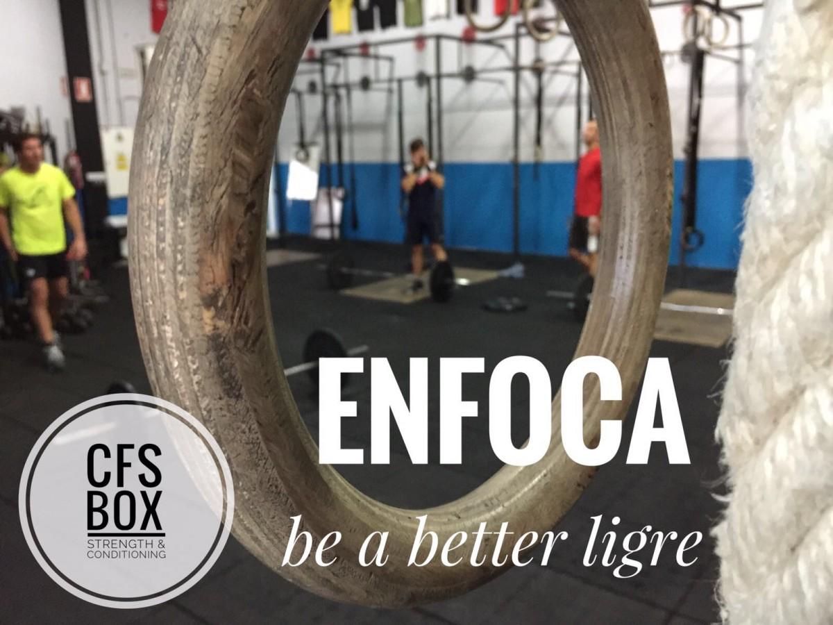 Wod CFS Box Sevilla CrossFit Training enfoca be a better ligre