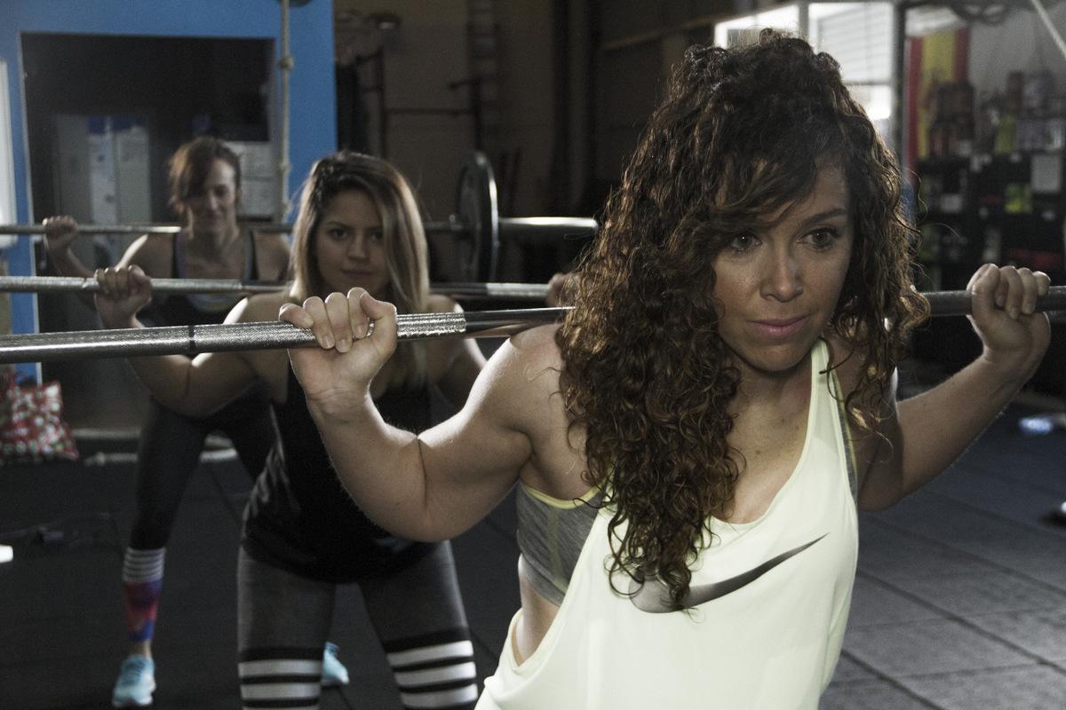 Wod CFS Box Sevilla CrossFit Training Girls Lions