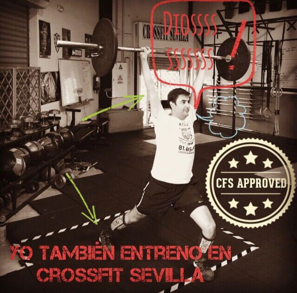 wod CFS Box CrossFit Sevilla training Halterofilia aprobado