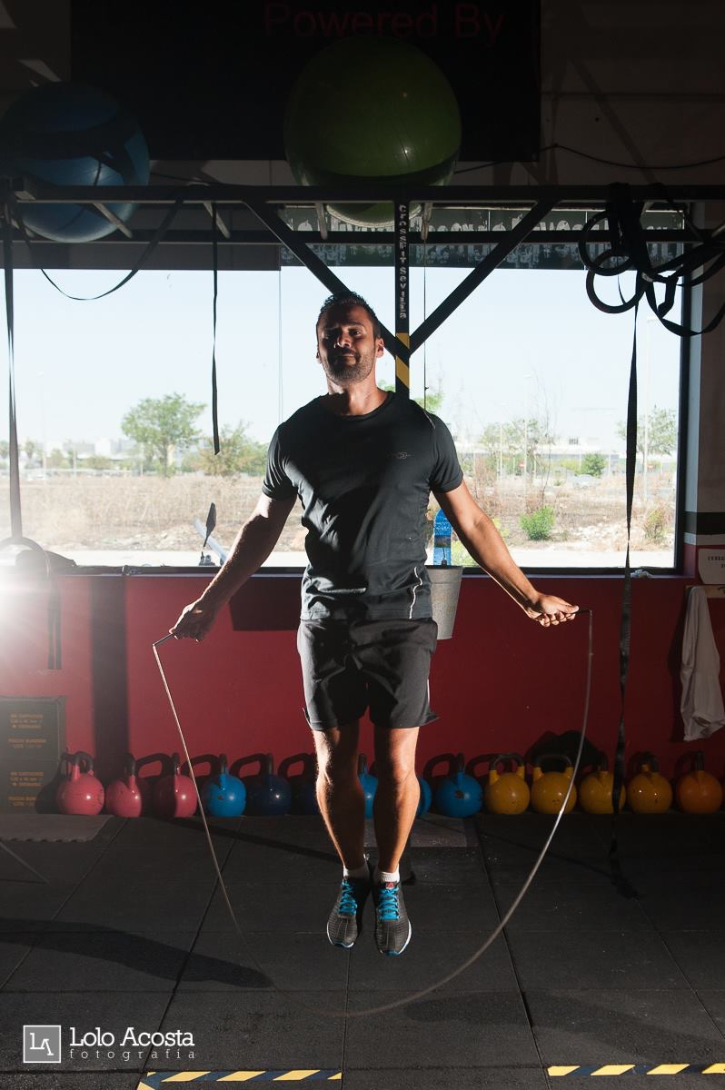 Wod CFS Box CrossFit Sevilla Leones training combas