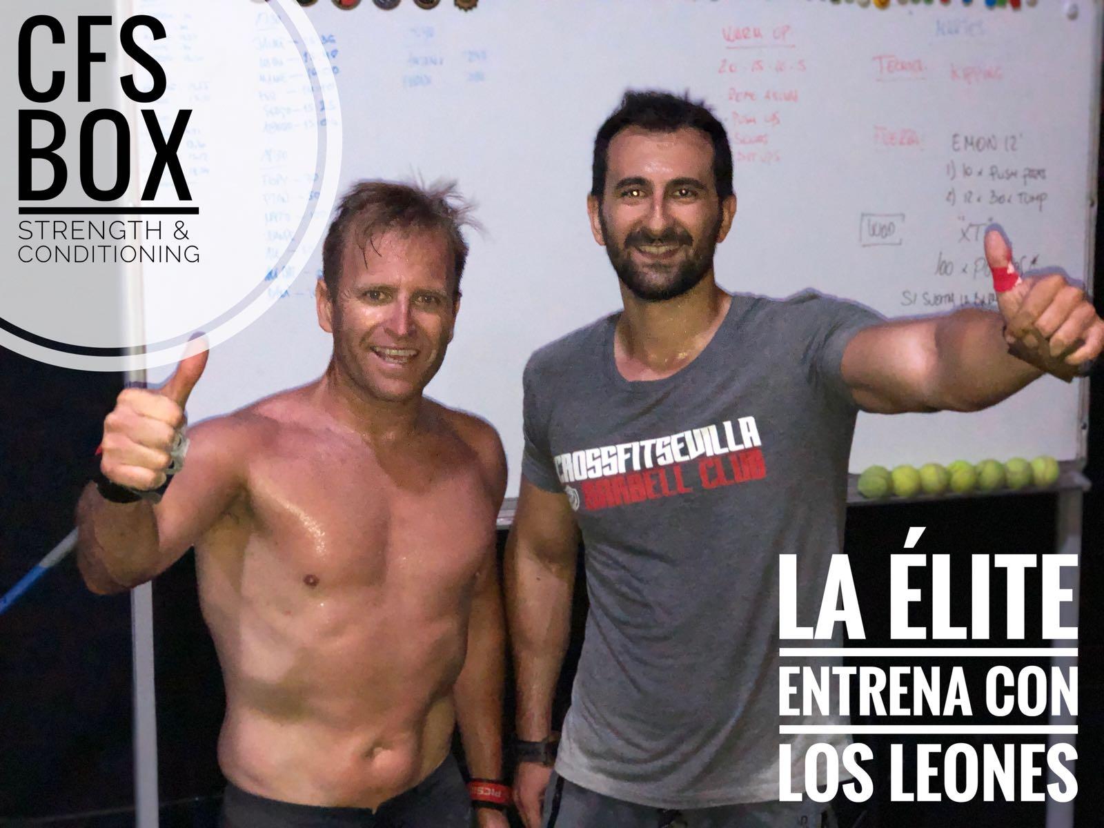 Wod CFS Box CrossFit Sevilla training elite leones