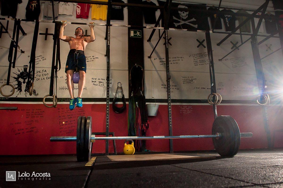 Wod x CrossFit Sevilla Leones training dominadas