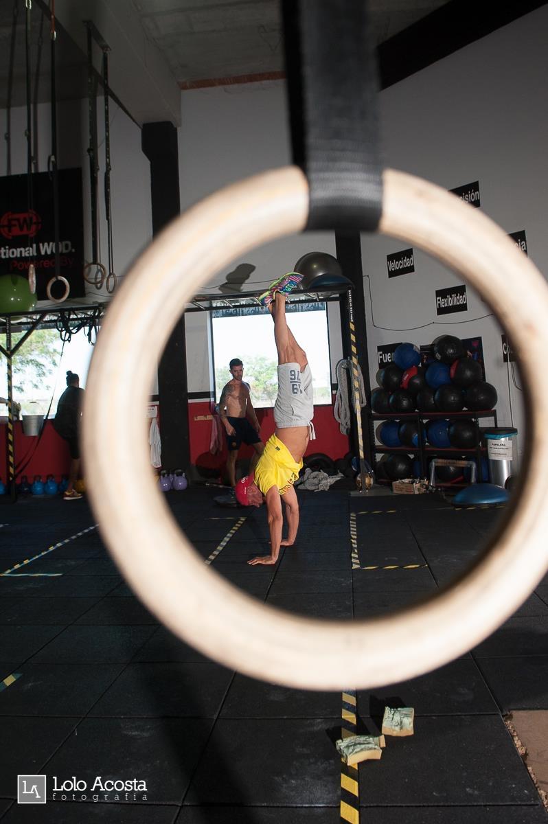 Wod x CrossFit Sevilla Leones training pino