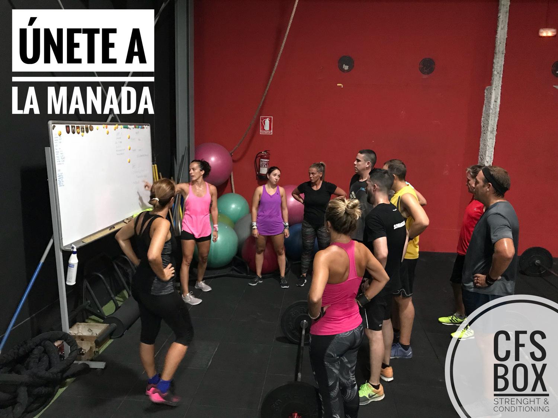 Wod CFS Box CrossFit Sevilla training unete a la manada