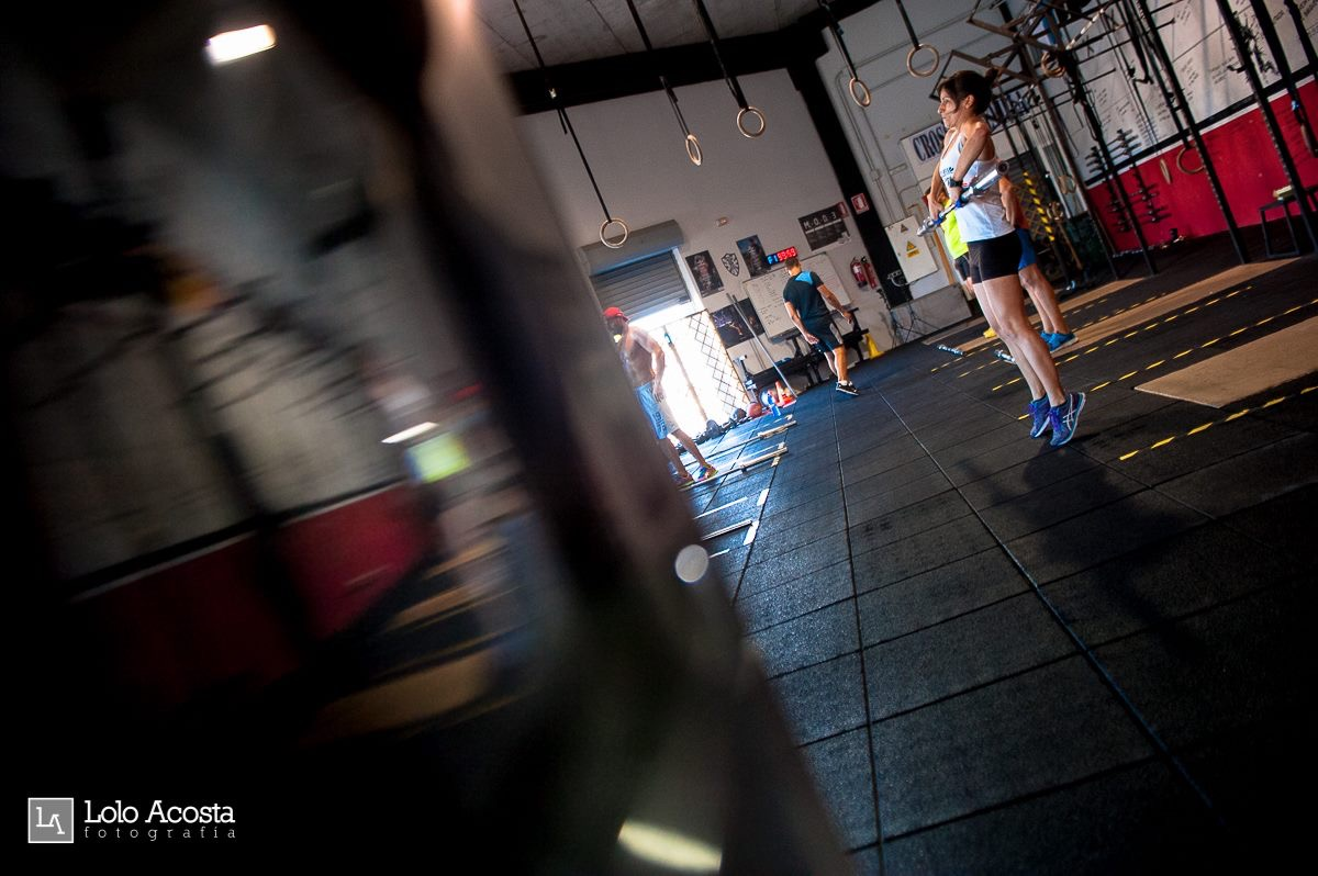Wod CFS Box CrossFit Sevilla Leones training halterofilia