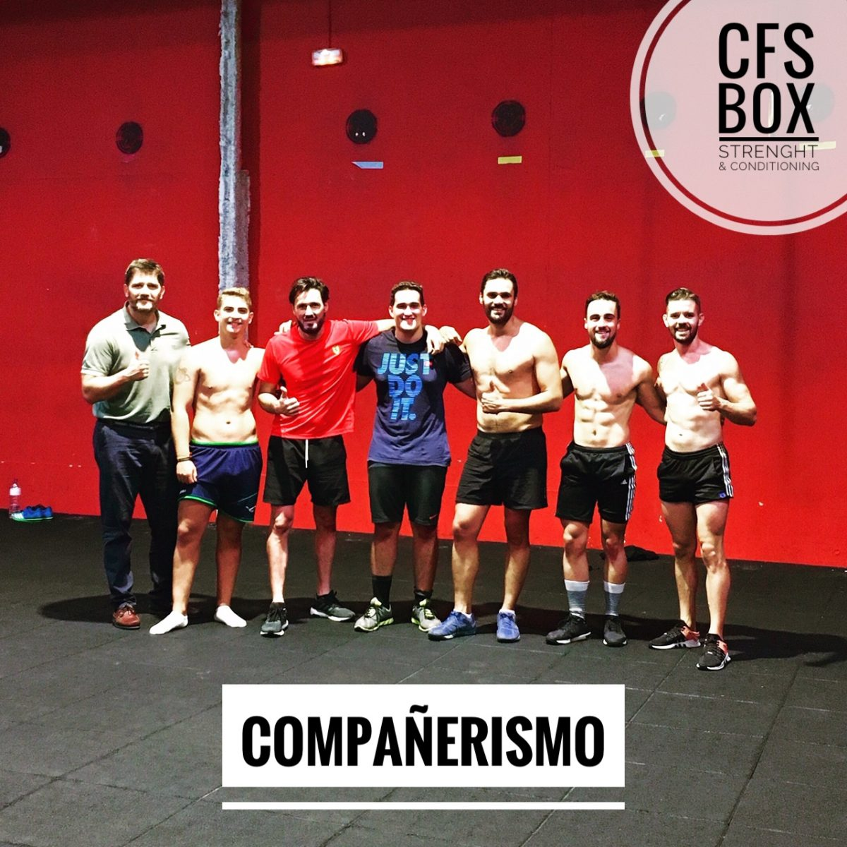 Wod CFS Box CrossFit Sevilla training compañerismo