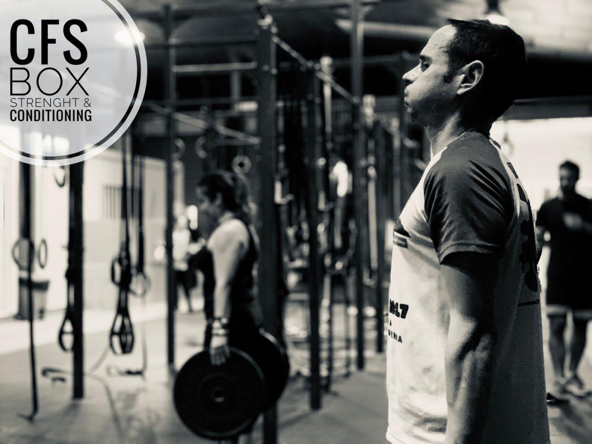 Wod CFS Box CrossFit Sevilla training lions halterofilia
