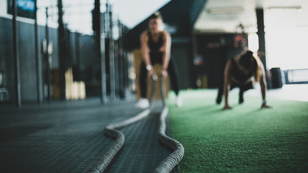 Wod CrossFit Sevilla training battle rope
