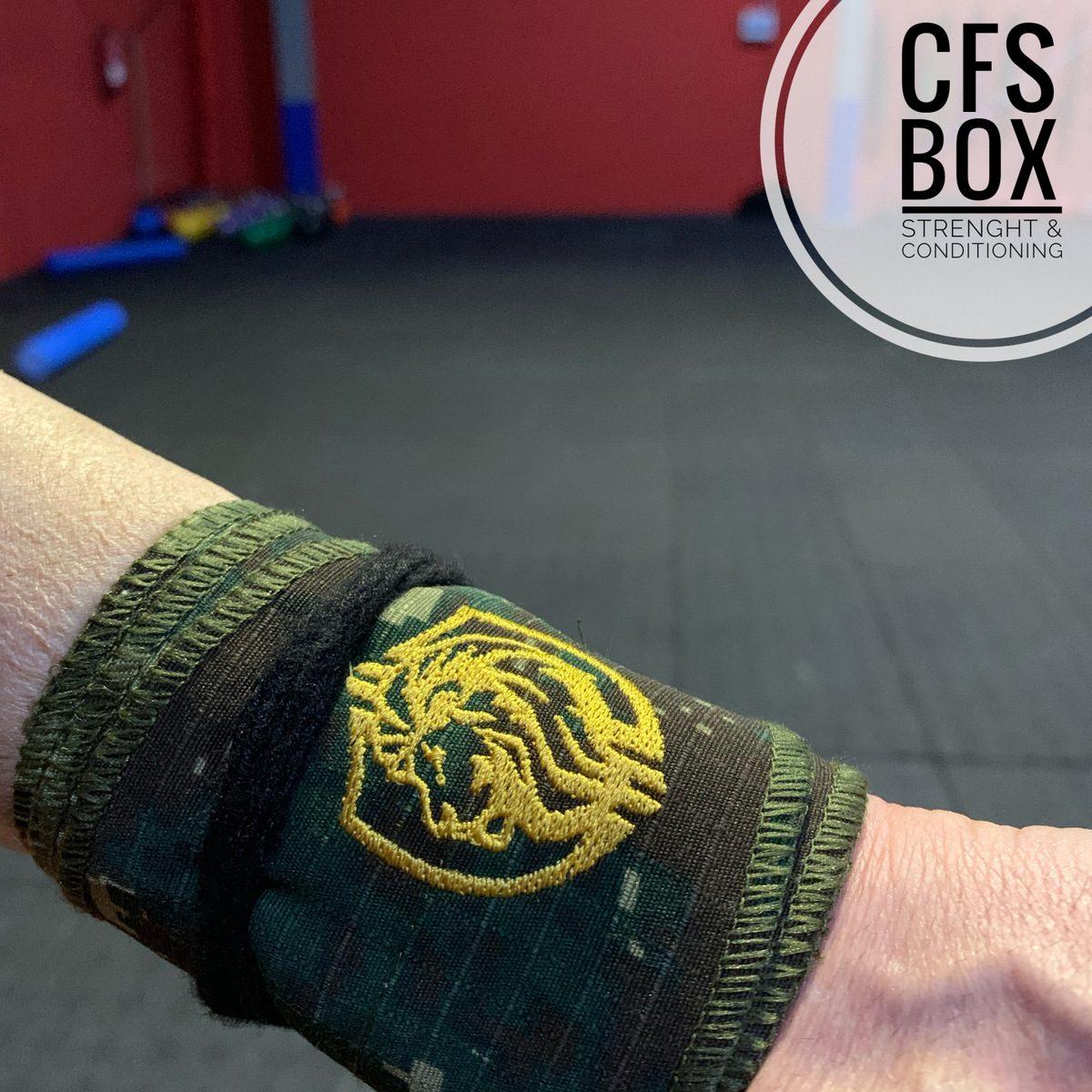 Wod CFS Box CrossFit Sevilla training lions muñequeras