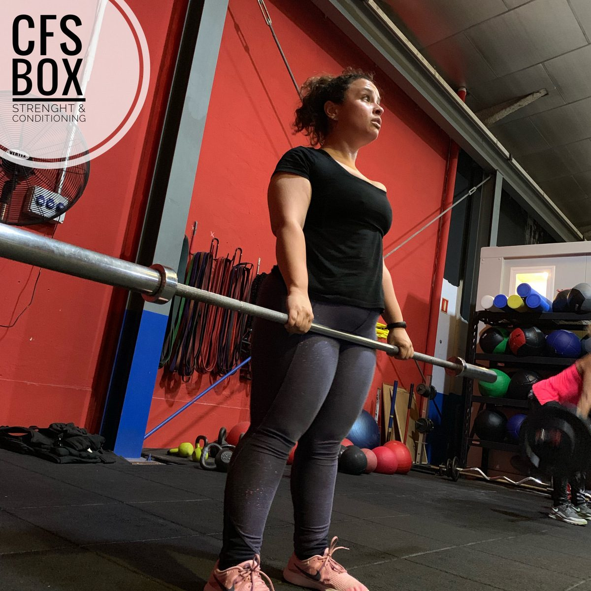 Wod CFS Box CrossFit Sevilla training lions leonas
