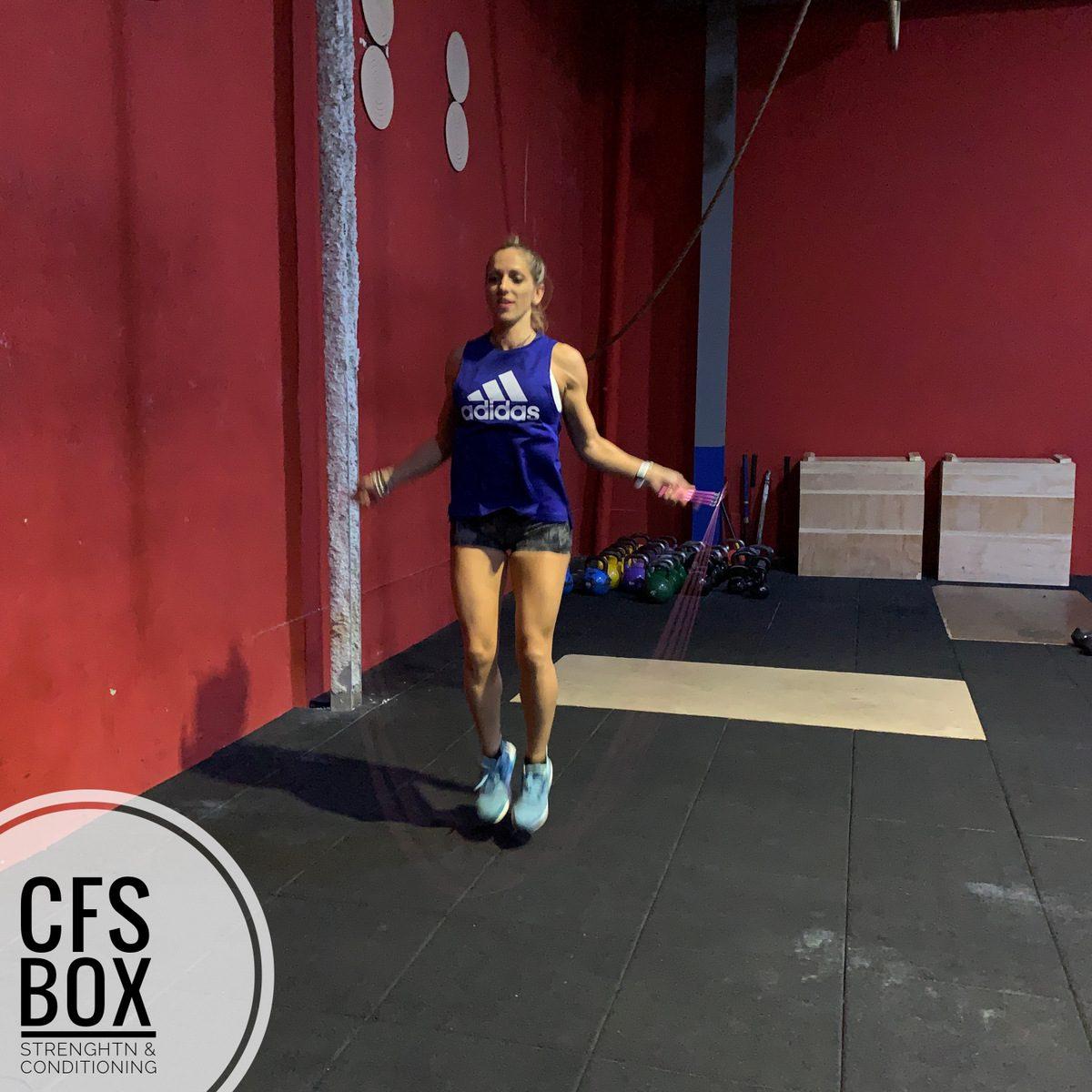 Wor CFS Box CrossFit Sevilla training lions