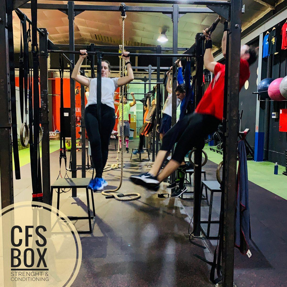 Wod CFS Box CrossFit Sevilla training lions