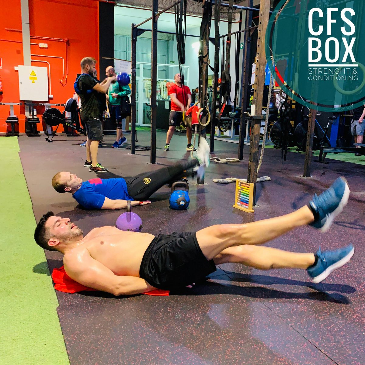 Box CFS Box CrossFit Sevilla training lions